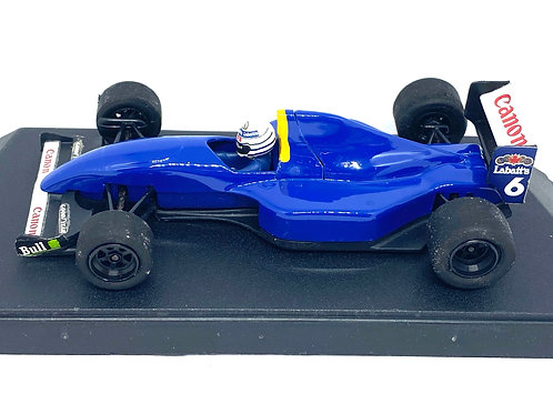1:43 scale Boxed Onyx Williams FW14B F1 Car - R Patrese 1992 Model with Stickers