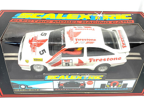 Vintage Boxed Scalextric Ford Sierra Cosworth Slot Car, Scalextric C456 Model