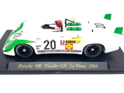 1:32 scale Fly Slot Car Porsche 908 Flunder J Siffert & B Redman Le Mans 1969