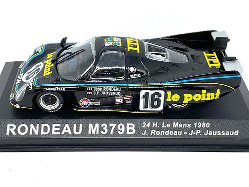 1:43 scale Altaya Rondeau M379B Sports Car, J Rondeau Le Mans 1980 Diecast Model
