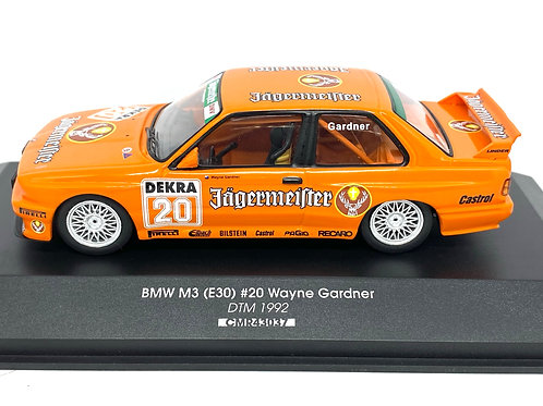 1:43 scale CMR BMW M3 DTM Touring Car Wayne Gardner 1992 Diecast Model Car