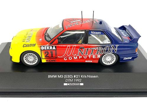 1:43 scale CMR BMW M3 DTM Touring Car Kris Nissen 1992 Diecast Model DTM Car