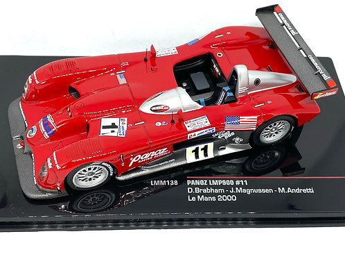 1:43 scale IXO Panoz LMP900 Sports Car as raced by Brabham, Magnussen & Andretti