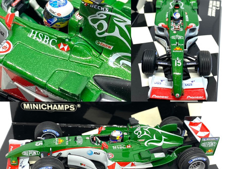 1/43 scale Minichamps Jaguar F1 Diecast Models