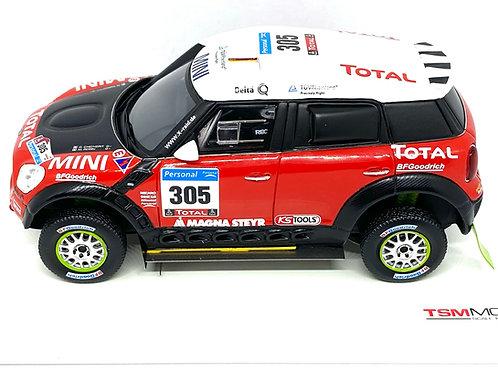 1:43 scale TSM Model Mini All 4 Racing 2011 Dakar Rally Car Diecast Model Car
