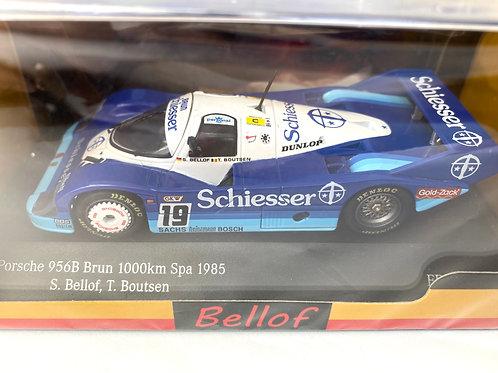 1:43 scale C M R Porsche 956 Sports Car as raced by Stefan Bellof at Spa in 1985
