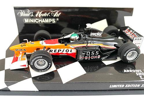 Ltd Edition 1:43 scale Minichamps Arrows 1999 F1 Show Car - T Takagi Model