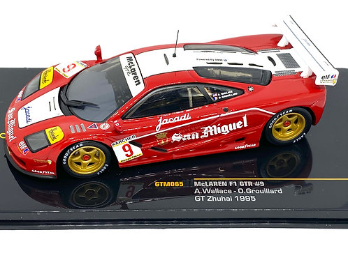 1:43 scale IXO McLaren F1 GTR Sports Car A Wallace & O Grouillard 1995 Diecast