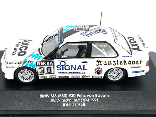 1:43 scale CMR BMW M3 DTM Touring Car P Von Bayern 1991 Diecast Model Car