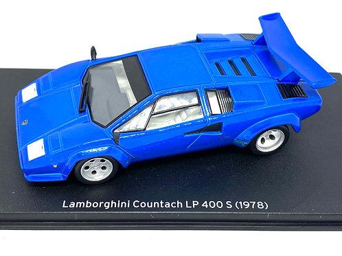 1:43 scale Altaya Diecast Lamborghini Countach LP 400 Sports Car Model from 1978