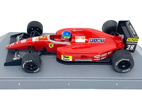 1:43 scale Boxed Onyx Ferrari F92A F1 Car - Ivan Capelli 1992 Diecast Model Car