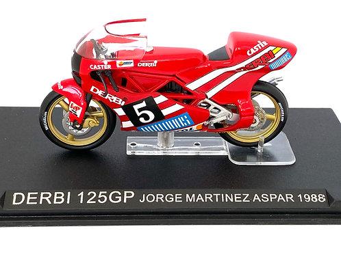1:24 scale De Agostini / Altaya Derbi 125 GP Bike - J M Aspar 1988 Model