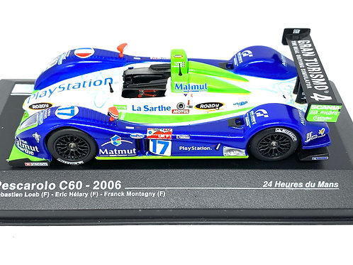 1:43 scale Altaya Pescarolo C60 Sports Car, Loeb, Helary & Montagny 2006 Model
