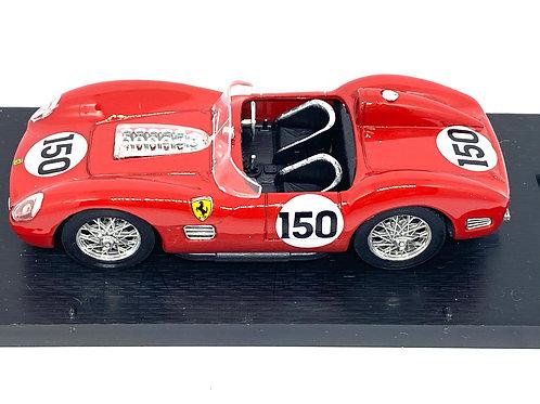 1:43 scale Boxed Brumm Ferrari TR59 Sports Car - Behra & Brooks 1959 Diecast Car