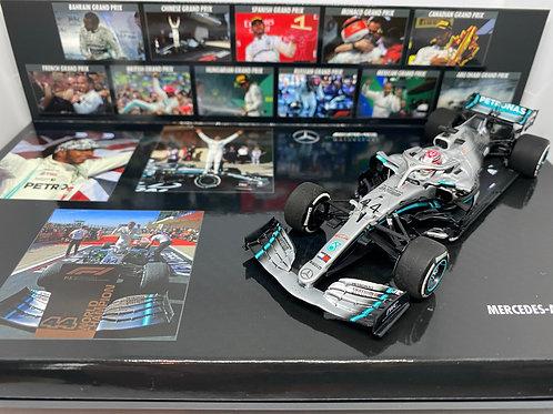 1:43 scale Minichamps Mercedes AMG W10 - L Hamilton US GP 2019 Limited Ed of 100