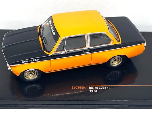 1:43 Scale IXO Model of a BMW Alpina 2002 Tii Diecast Replica from 1972
