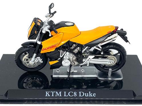 Boxed 1:24 scale Atlas Editions KTM LC8 Duke Diecast Model Bike Model Replica