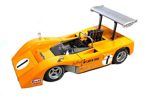 Stunning 1:18 scale GMP McLaren M8B High Wing Can Am Car Dan Gurney 1969 Model