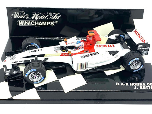 1:43 scale Minichamps BAR Honda 006 F1 Car - Jenson Button 2004 Model F1 Car