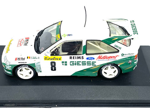 1:43 Scale Minichamps Ford Escort RS Cosworth Rally Car - B Thiry 1994 Model Car