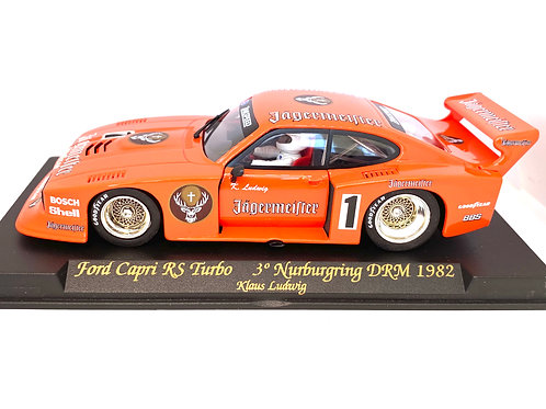 1:32 scale Fly Slot Car Ford Capri RS Turbo - K Ludwig 1982