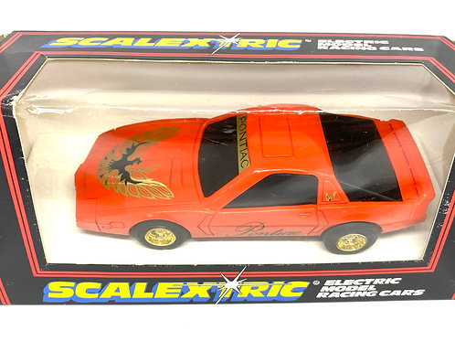 Vintage Boxed Pontiac Firebird Scalextric Slot Car, Scalextric C383 Model