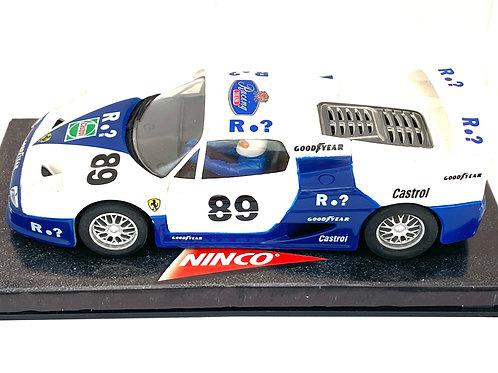 1:32 scale Ninco Ferrari F50 Sports Car, Ferrari F50 Slot Car Race Car Model