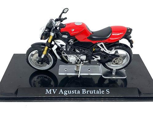 1:24 scale Atlas Editions MV Agusta Brutale S Diecast Motorbike Replica Model