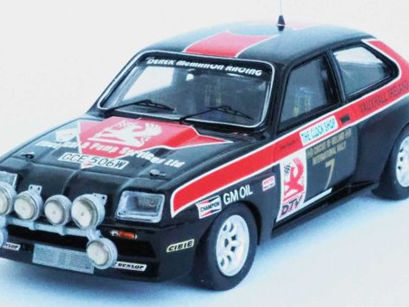 New Diecast Models from Trofeu this June