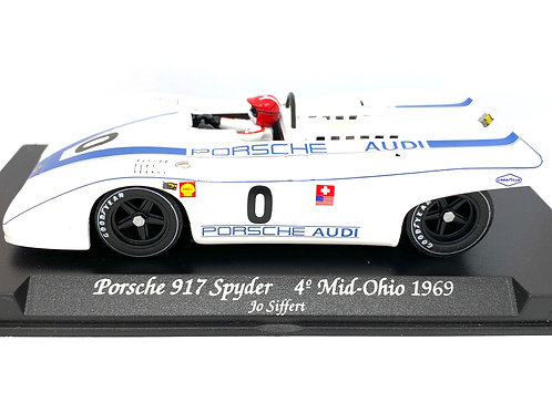 1:32 scale Fly Slot Car Porsche 917 Spyder Endurance Race Car - J Siffert 1969