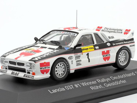 Walter Rohrl Model Rally Car Collection