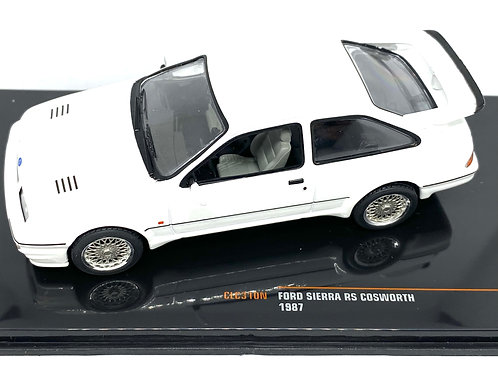 1:43 scale IXO Ford Sierra RS Cosworth Diecast Model Car from 1987