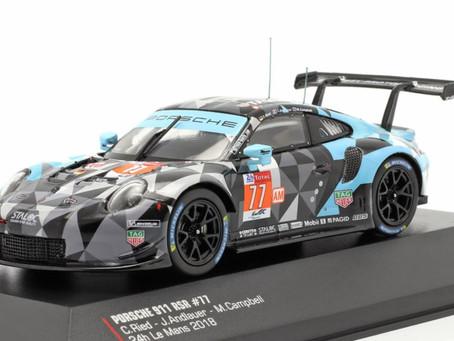 IXO Porsche 911 RSR Diecast Model Cars