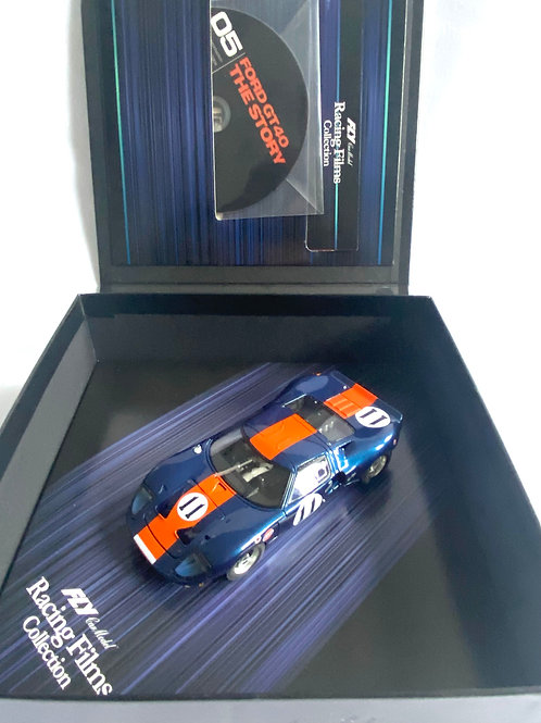 Rare 1:32 scale Fly Ford GT40 Racing Films Collection Model, DVD & Booklet