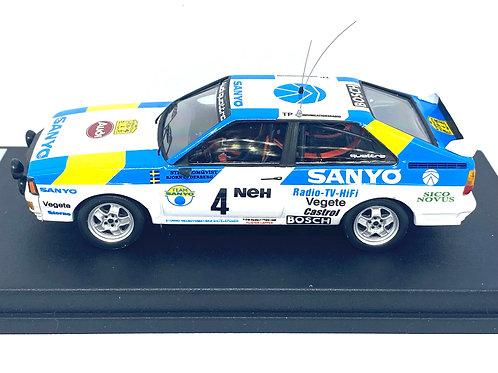 1:43 scale Trofeu Audi Quattro Rally Car, Stig Blomqvist 1982 Ltd Edition of 150