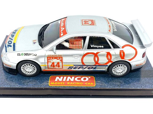 Boxed 1:32 scale Ninco Audi A4 Touring Car Slot Car Model, Audi Scalextric Model