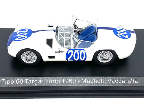 1:43 scale Altaya Maserati Tipo 60 Sports Car - Maglioli & Vaccarella 1960 Model