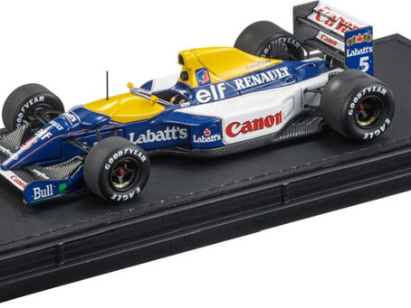 New announcement - 1/43 scale Williams FW14B - Nigel Mansell by GP Replicas
