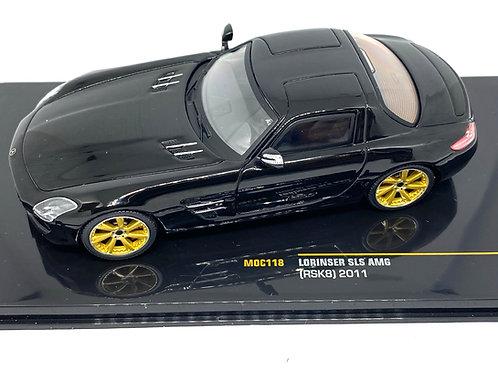 1:43 scale IXO Mercedes Lorinser SLS AMG Diecast Model Sports Car IXO MOC118