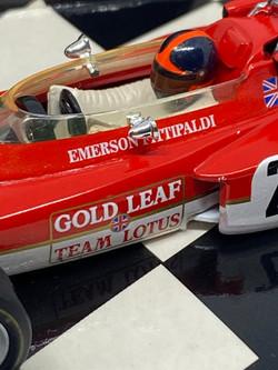 Lotus 72 - E Fittipaldi 1970 6