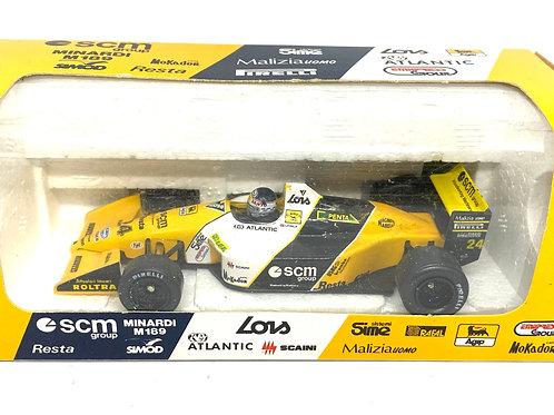 1:43 scale Onyx Minardi M189 F1 Car - L Perez-Sala 1989 F1 Diecast Model F1 Car