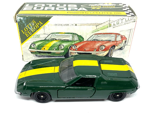 Rare Vintage Boxed 1:43 scale Tomica Dandy F12 Green & Yellow Lotus Europa Model