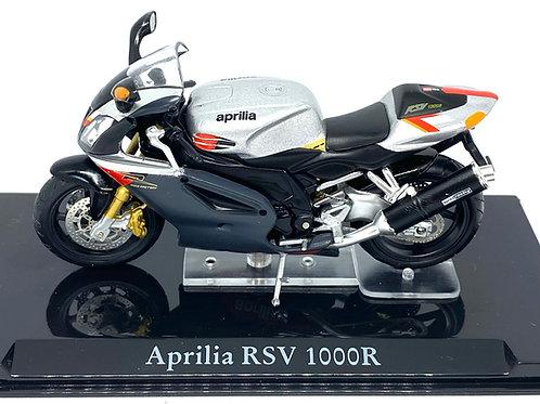 1:24 scale Atlas Editions Aprilia RSV 1000R Superbike Diecast Model Motorbike
