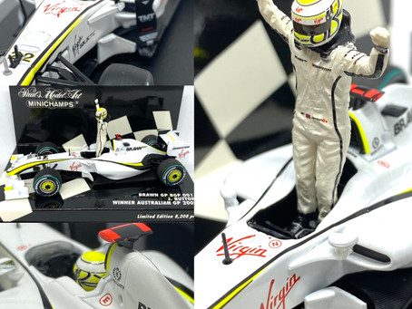 Diecast Jenson Button Brawn GP 001 F1 Cars