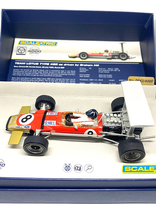 1:32 scale Scalextric Lotus 49B F1 Car Graham Hill 1968 Scalextric C3543A Model