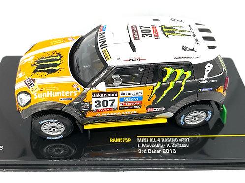 1:43 Scale IXO Mini Rally Car - L Movitskly 2013 Dakar Rally  Diecast Model Car