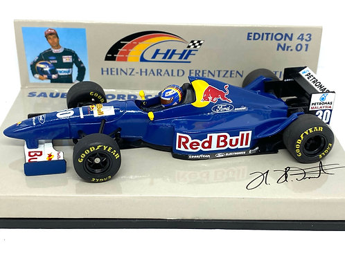 1:43 scale Minichamps Red Bull Sauber C14 F1 Car - Heinz-Harald Frentzen 1995
