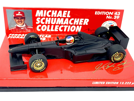 Minichamps Ferrari F1 Die cast Test Car - Michael Schumacher