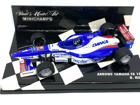 1/43 scale Diecast Arrows Yamaha FA18 - Damon Hill 1997