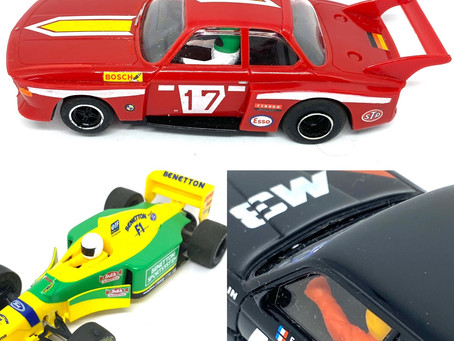 Vintage Scalextric Cars in stock
